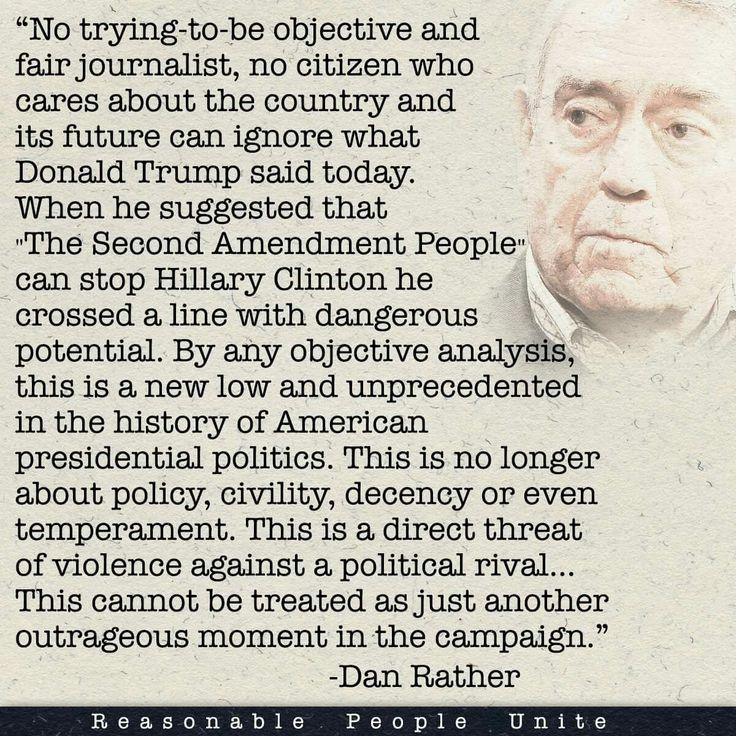 Dan Rather making sense