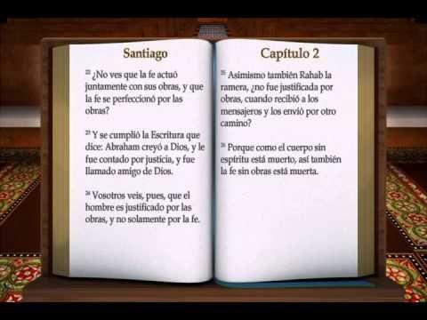 "LA BIBLIA "" SANTIAGO "" COMPLETO REINA VALERA NUEVO TESTAMENTO - YouTube"