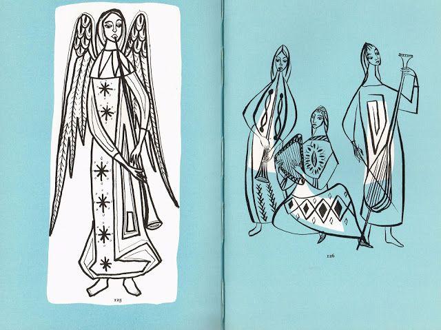 Страница из Canvas Работа Дженнифер Грей 1960 ... Ангелы
