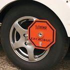 Excalibur Caravan Wheel Lock Fullstop Caravan Security Receiver Lock rrp 180
