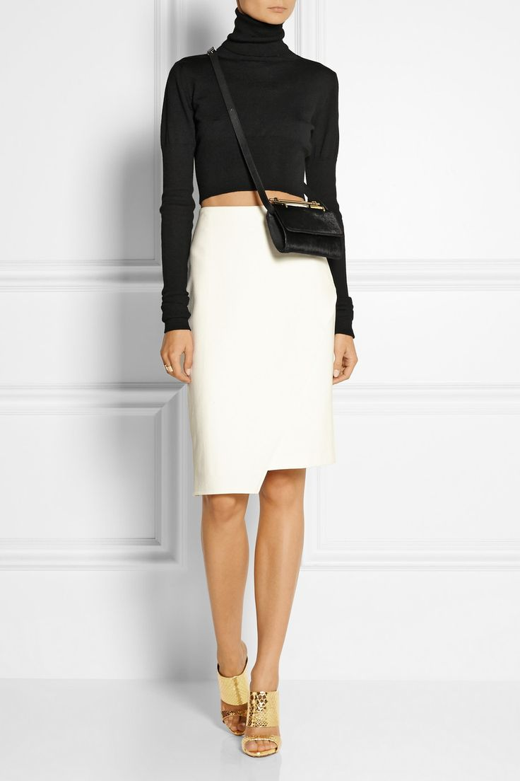 M2Malletier Fabricca mini calf hair shoulder bag NET-A-PORTER.COM
