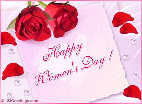 HAPPY WOMEN'S DAY :) :)