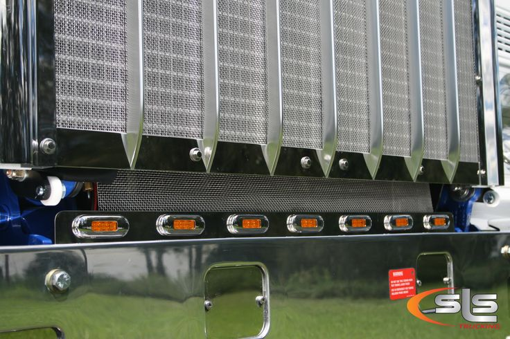 Lower grill lights to suit cab over Kenworth