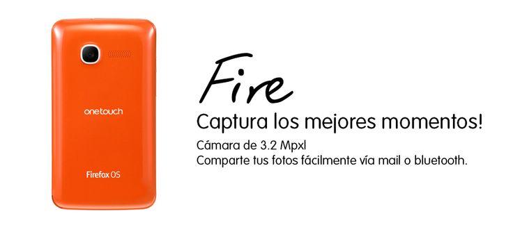 Disfruta de tu semana al máximo y captura cada detalle con la cámara de 3.2 mpx del FIRE.