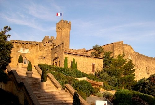 Chateau de l'Emperi, Salon de Provence, France. Had a lot of Napoleon items in side