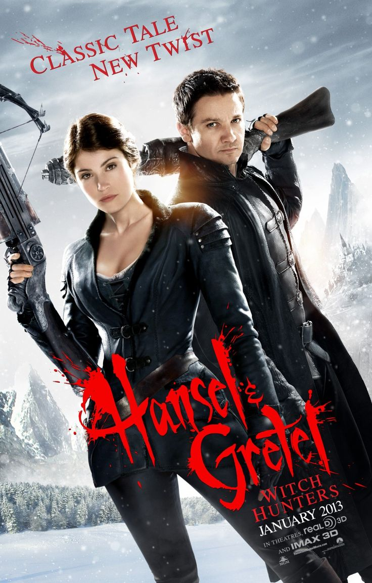 Hansel and Gretel: Witch Hunters. Brilliant take on the classic story. Bloody brilliant