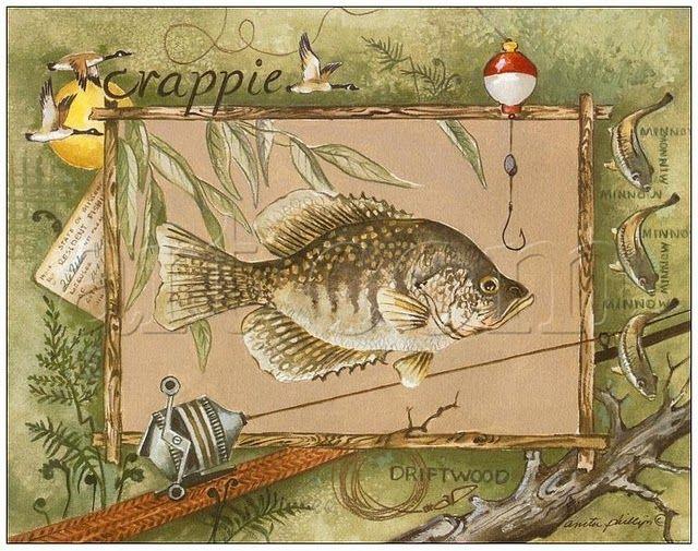 Открытка на тему охота и рыбалка, для мальчиков