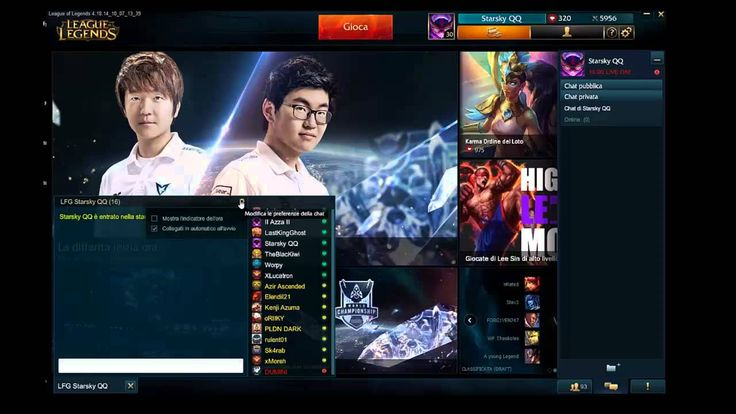 Starsky QQ - Chat Personalizzata per Normal/Custom/TeamRanked Game!
