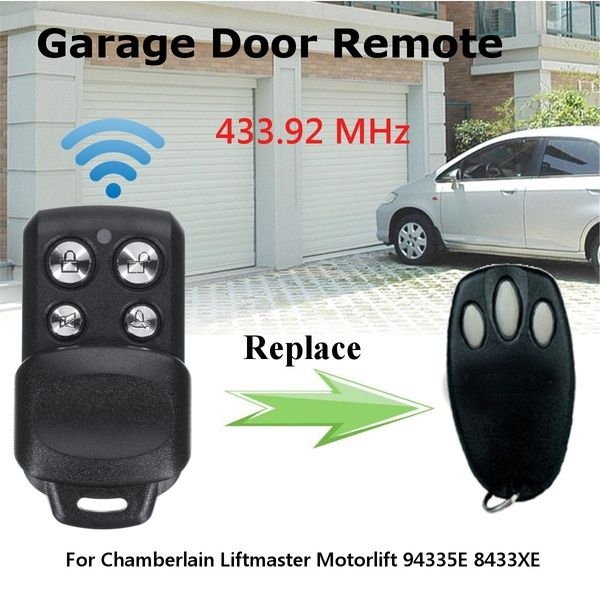 Garage Door Remote Control 433 92mhz For Chamberlain Liftmaster