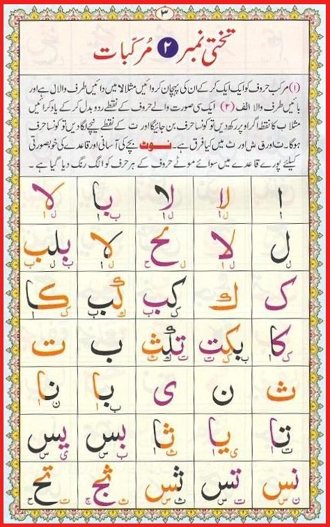 learn to read arabic online free