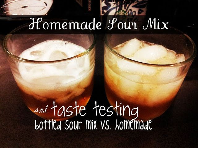 The Cowgill's : Homemade Sour Mix {with the Trent Shaker Method}