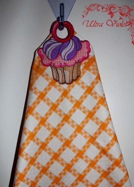 Geschirrtuch ,Küchentuch mit einem Motiv von Exklusive Geschenke. auf DaWanda.com