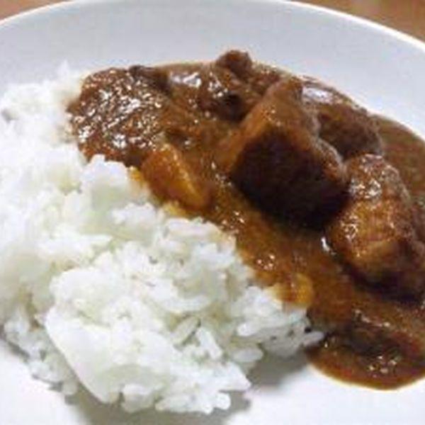 豚肉ゴロゴロの欧風カレー