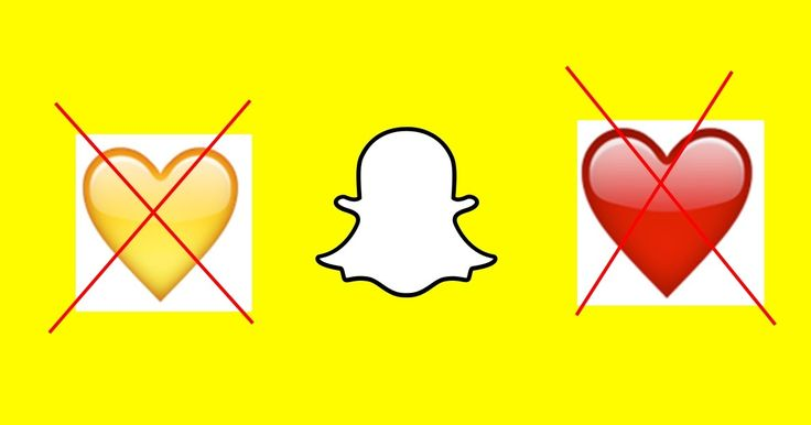 Why Do Yellow Heart Emoji Disappeared on Snapchat? or the