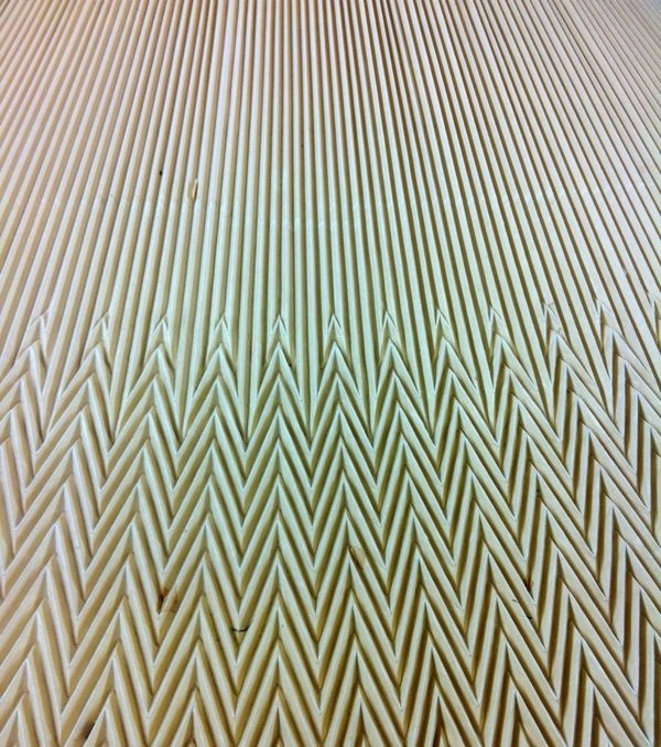 accordion and chevron bo pleating