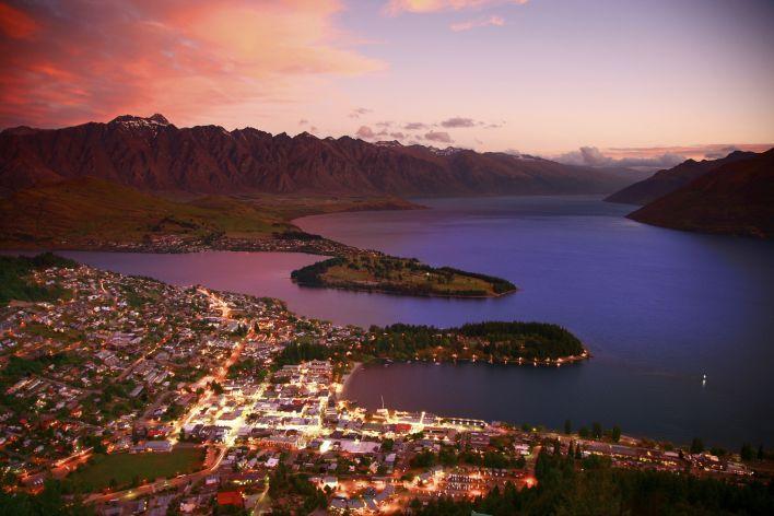 Waaw, wij willen ook wel eens naar Queenstown gaan in Nieuw-Zeeland... | newsmonkey