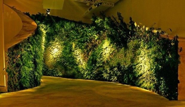 Jardines verticales y techos vivos un tapiz de plantas - Diseno de jardines exteriores ...