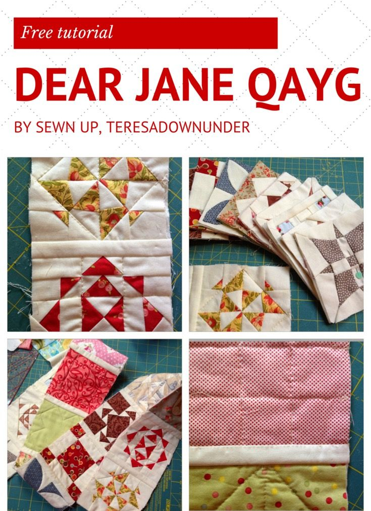 This quilt is a first for me in two ways: it is my first foundation piecing quilt and it is my first QAYG quilt too. Both techniques were a bit intimidating to me but both have turned out to be qui…