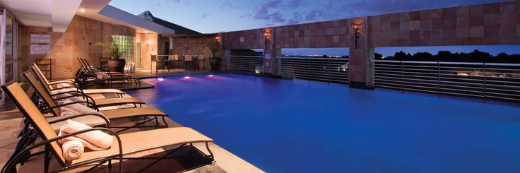 Pool at the Hyatt Regency, Johannesburg.