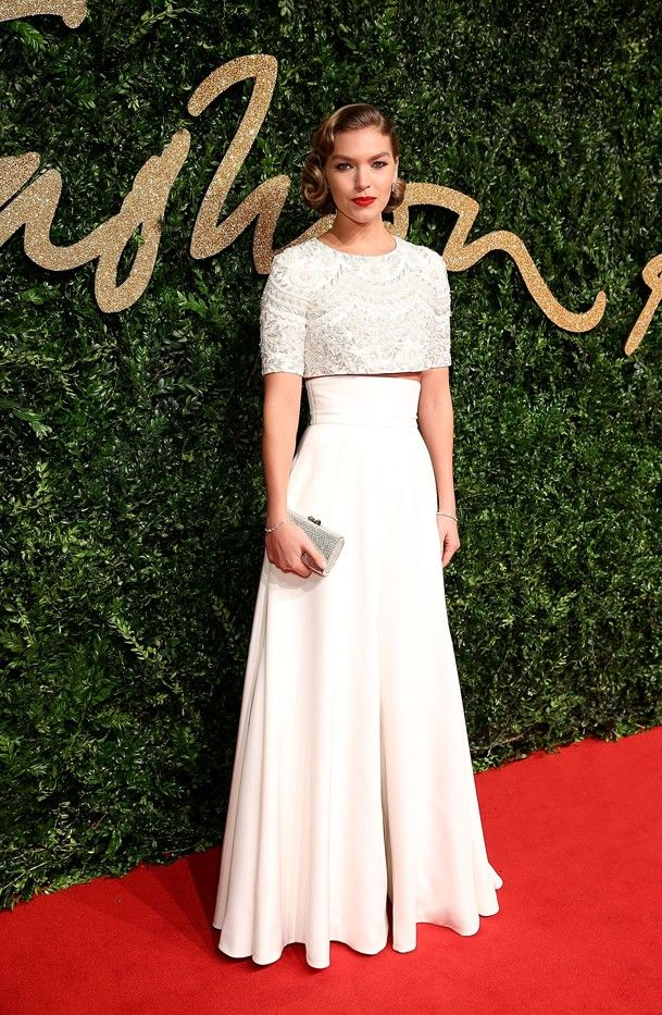 See All the Gorgeous Looks From the British Fashion Awards via @WhoWhatWearUK