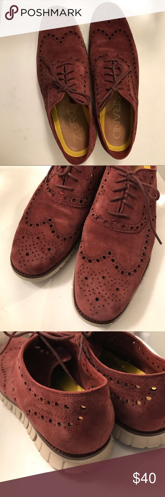 Cole Han Grand.OS Zero Grand size 13 Worn a few time one season, great condition, very comfortable, soles show almost no wear Cole Haan Shoes
