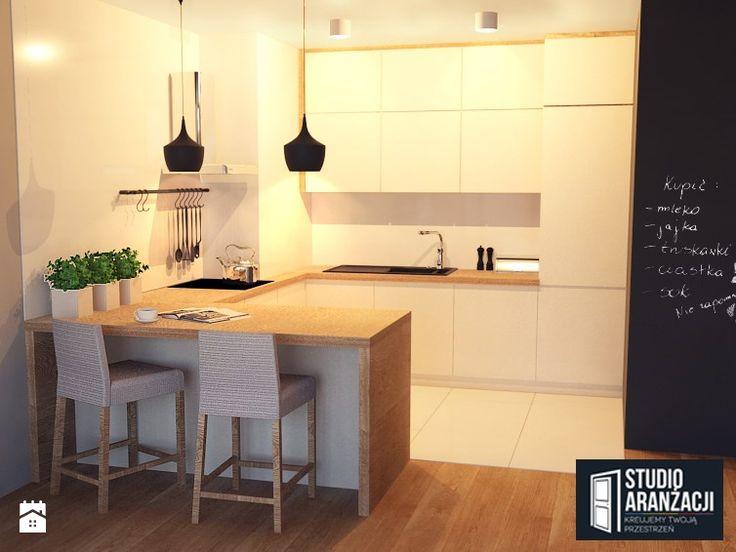 Senatorska 44 m2 - zdjęcie od Studio Aranżacji - Kuchnia - Styl Nowoczesny - Studio Aranżacji