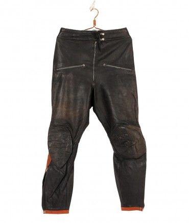 #vintagemotorcycle #Leatherracepant 50/60s