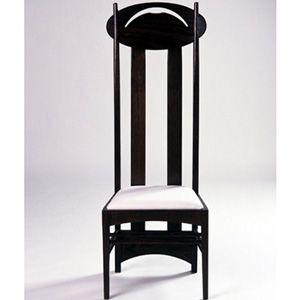 Charles Rennie Mackintosh chair, Scotland