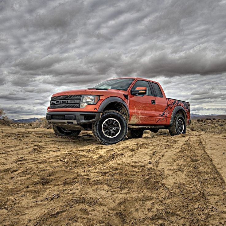 Ford Raptor this truck ran balls out across the dessert and didn't hurt it a bit. Top gear