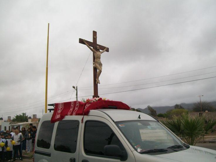 Comenzaron este viernes en Catamarca las festividades en la parroquia de la Santa Cruz
