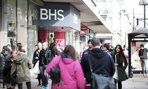 .BHS, Oxford Street, London. The department store is trying to negotiate a £60m rescue loan.