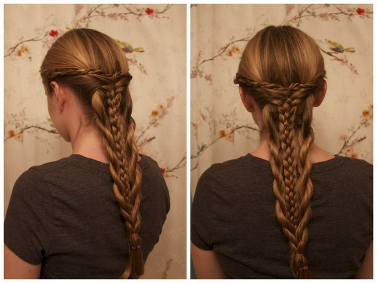 The White Queen Inspired Hair: Anne Neville's Five Strand & Rope Braid