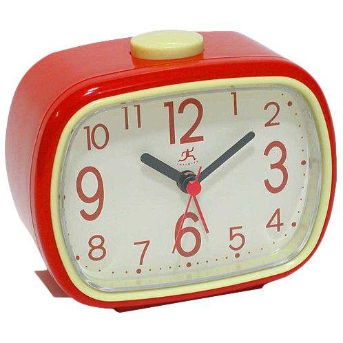 Infinity Instruments That '70s Retro Alarm Clock