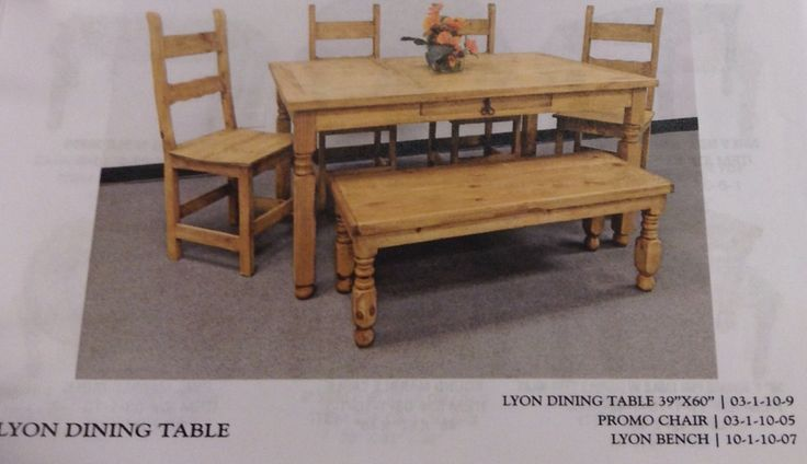 One Of The Rustic Dining Room Sets Available At Ellis Mercantile Layaway And Financing