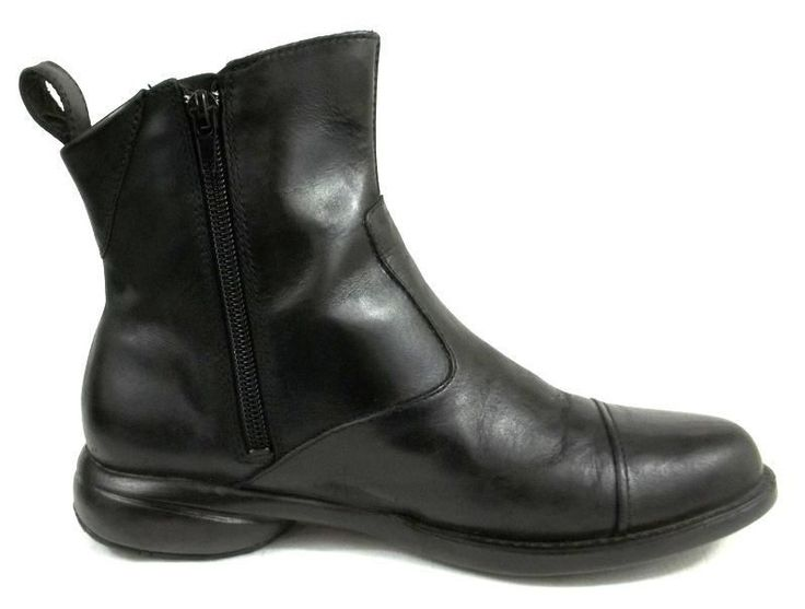 1000  ideas about Black Leather Ankle Boots on Pinterest | Black ...