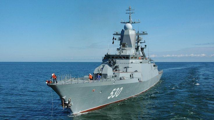 Корветы и МРК Балтийского флота устроили дуэль