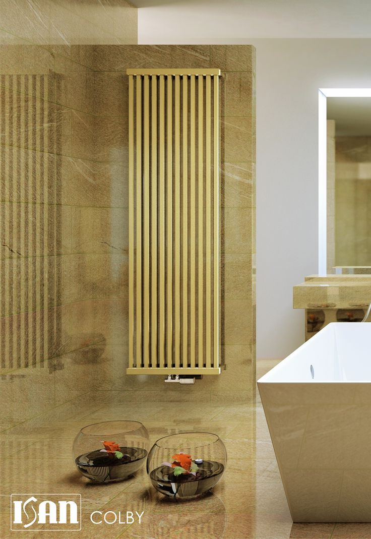 ISAN Radiátory, product: COLBY  http://www.isan.cz/en/products/news/colby/?  Design Radiator