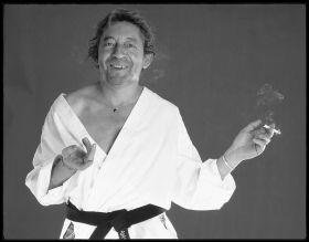 Photographie Contemporaine | André Perlstein | Serge Gainsbourg | Tirage d'art en série limitée sur L'oeil ouvert