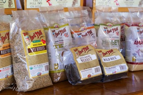 Grain Giveaway from Bob's Red Mill! | Our Lady of Second Helpings: Bobs Red Mill, Mill Announcement, Grain Giveaway, Healthy Recipes