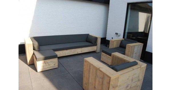 Afmetingen  Loungeset MARSEILLE De genoemde afmetingen zijn de buitenmaten van de Loungebank. Om de breedte van het zitvlak te berekenen is hetminus 40 cmvan elke zijde:20 cm breed van de armleuning. Voorbeeld: een Loungebank bank van 200cm heeft een zitvlak van 160cm  STAAT DE