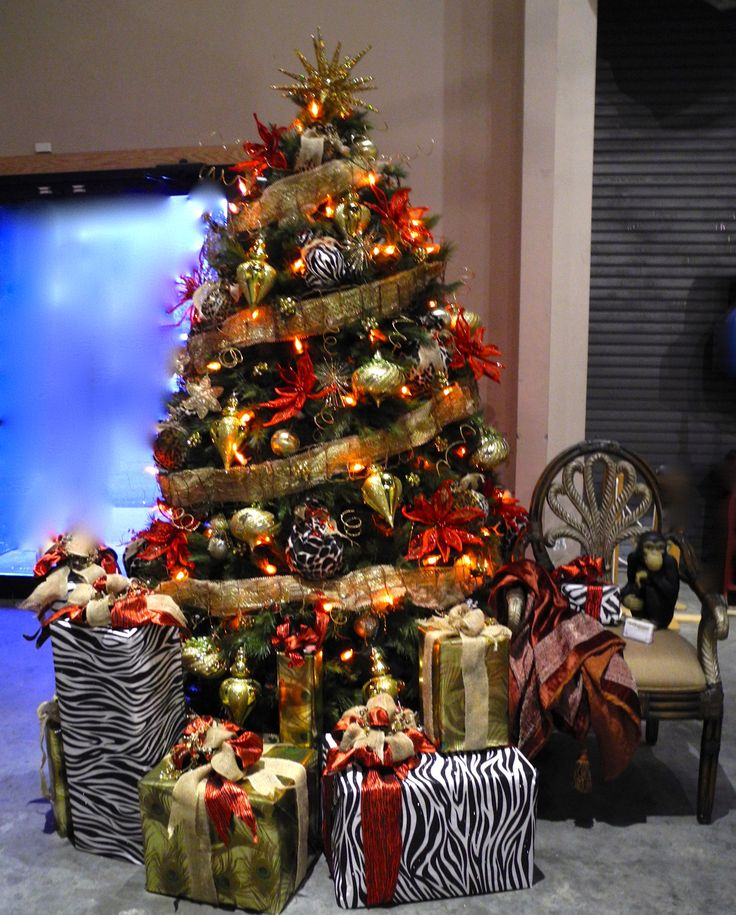 19 Best Images About African Themed Christmas Tree On