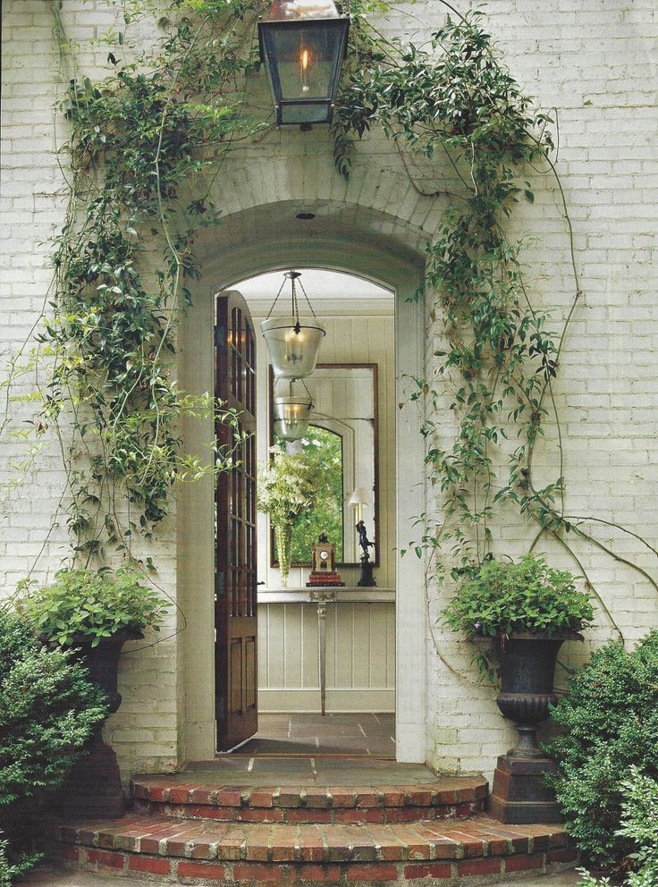 Greenery entry