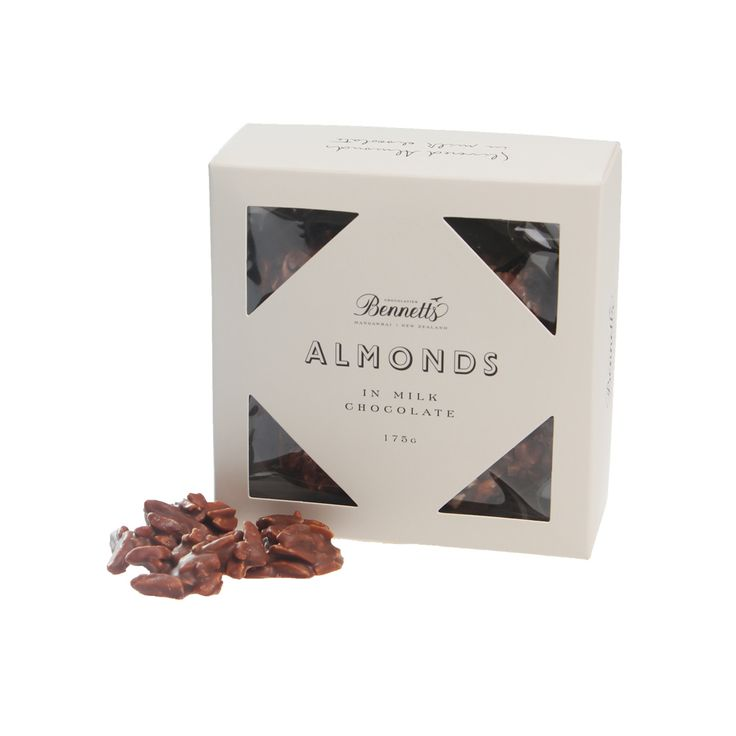 NUTS about Dad! Slivered almonds in milk chocolate are sure to be a hit with the special men in your life.