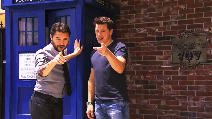 Watch Wil Wheaton's steampunk date with John Barrowman in this extended clip from The Wil Wheaton Project