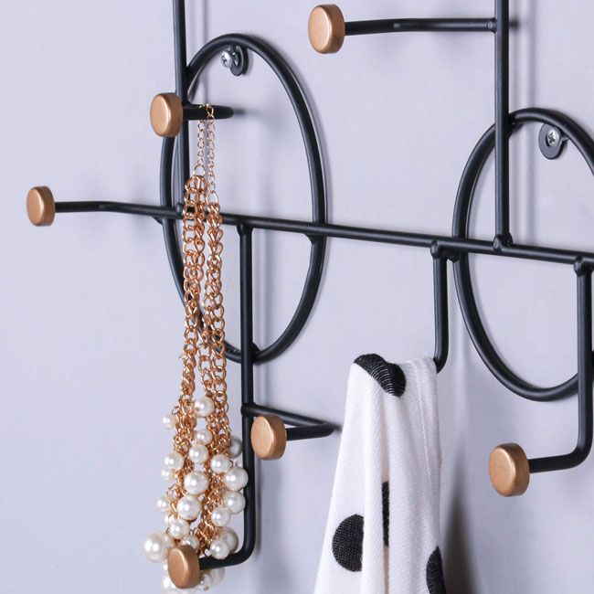 Vintage Decorative Wall Mounted Hat Coat Rack Wall Mounted Coat Rack Coat Rack Coat Rack Wall Decorative wall hooks for hanging
