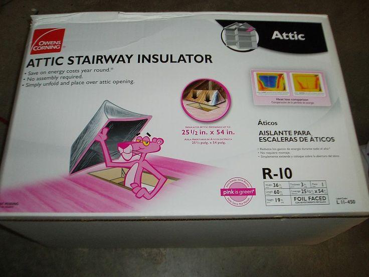 Owens Corning Attic Stairway Insulator / Insulation / Attic Tent | Garage  Redo | Pinterest | Insulation, Stairways And Attic