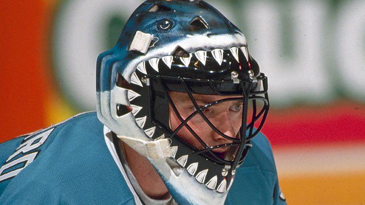 Brian Heyward's San Jose Sharks Mask