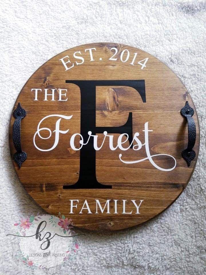 27+ Cricut round wood signs ideas