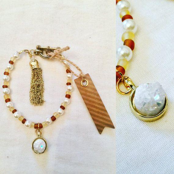 Aura Charm Bracelet by MJCustomDesignCanada on Etsy