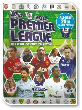Topps Premier League 2012